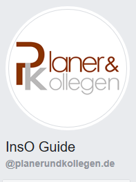 Facebookseite InsO Guide